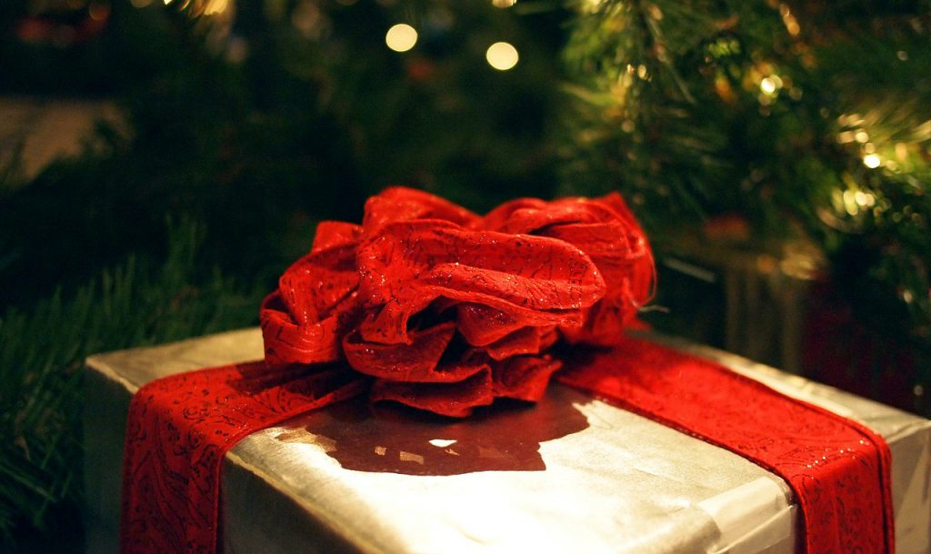 Christmas Gift Under Tree