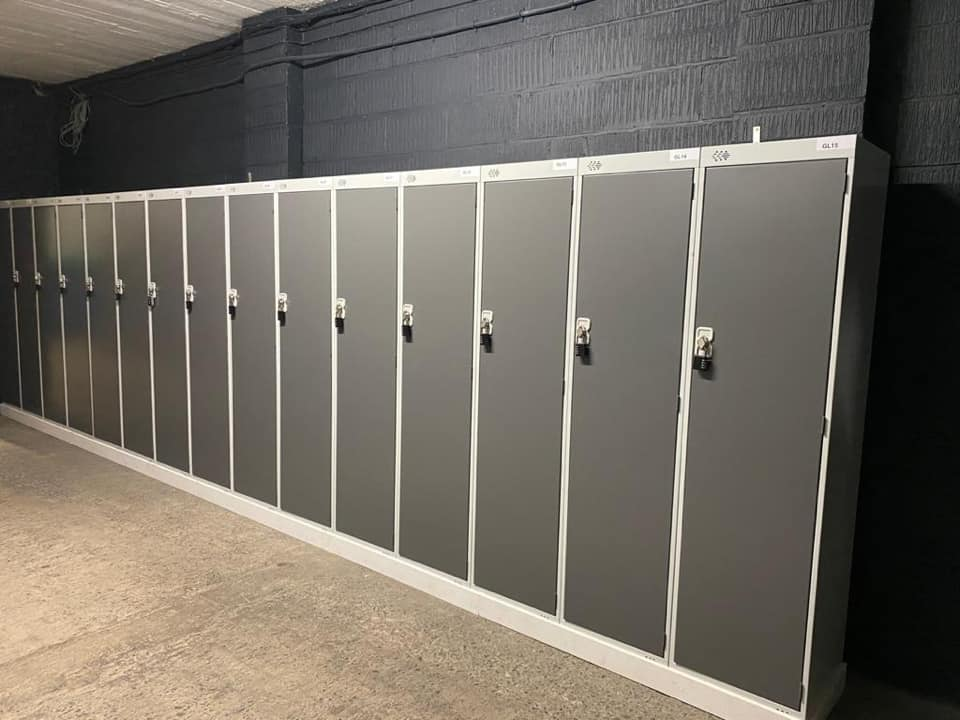 Locker Storage at GTW